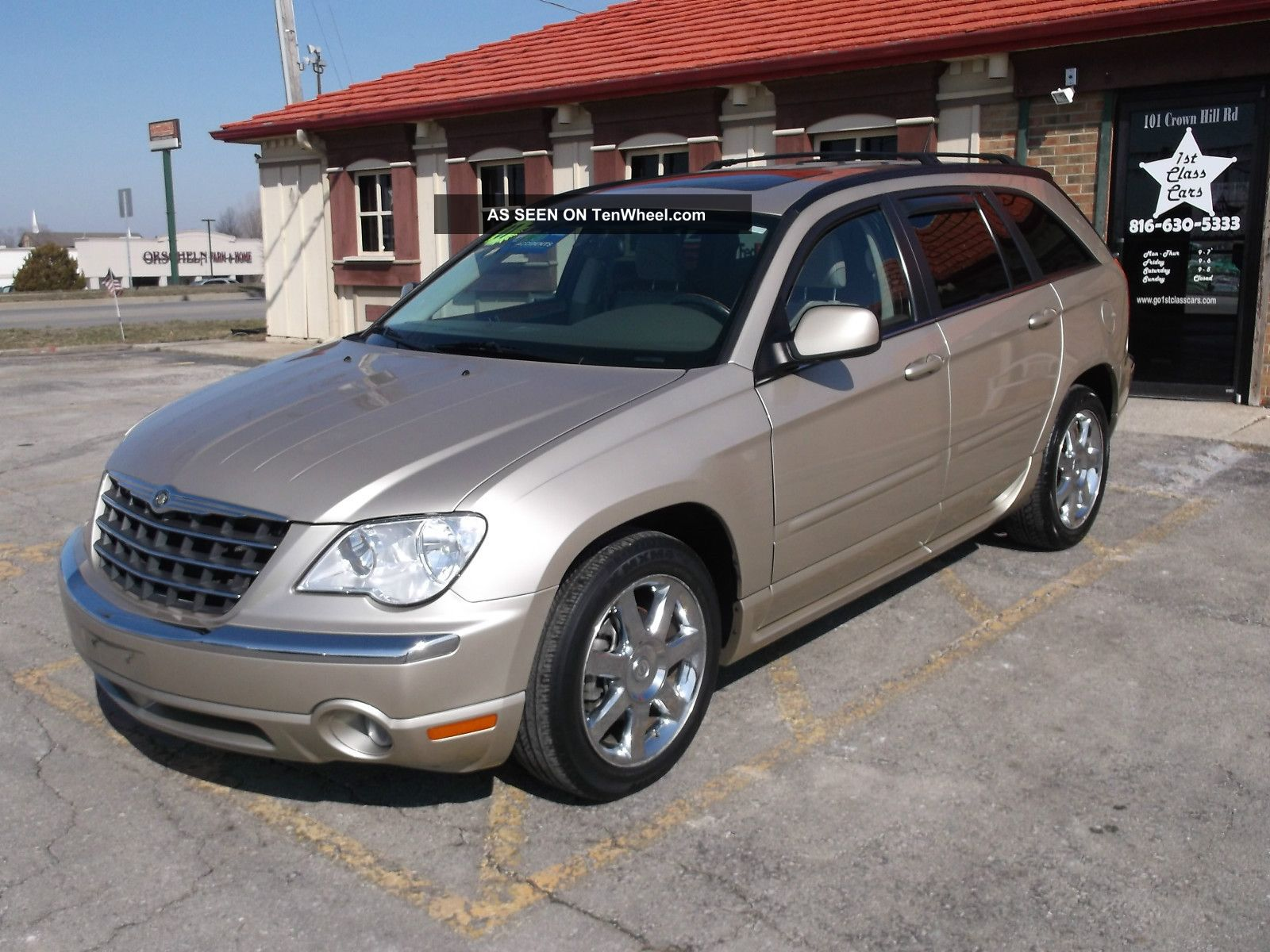 2007 chrysler pacifica limited sport utility 4 door 4 0l pacifica. Cars Review. Best American Auto & Cars Review