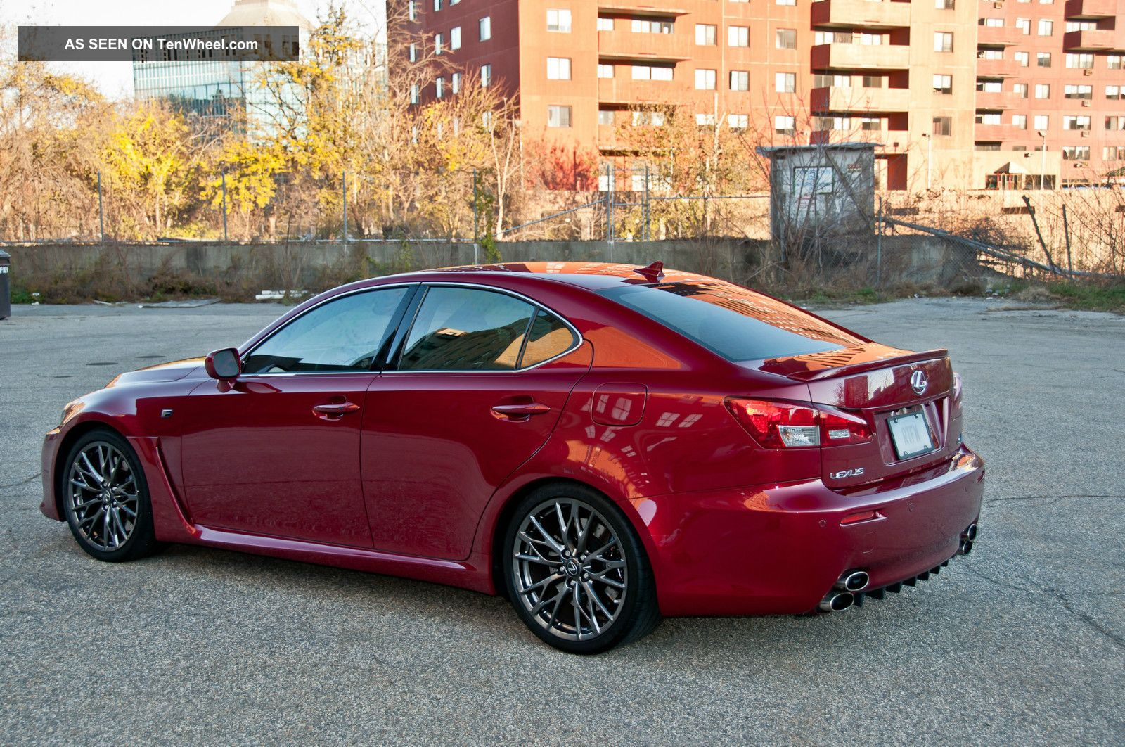 2010 lexus is f pristine condition. Black Bedroom Furniture Sets. Home Design Ideas