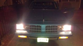 1986 Cutlass Classic Blue On Blue Runs & Looks Good Needs Some T.  L.  C photo
