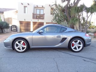2006 Porsche Cayman S Hatchback Sports Chrono Package photo
