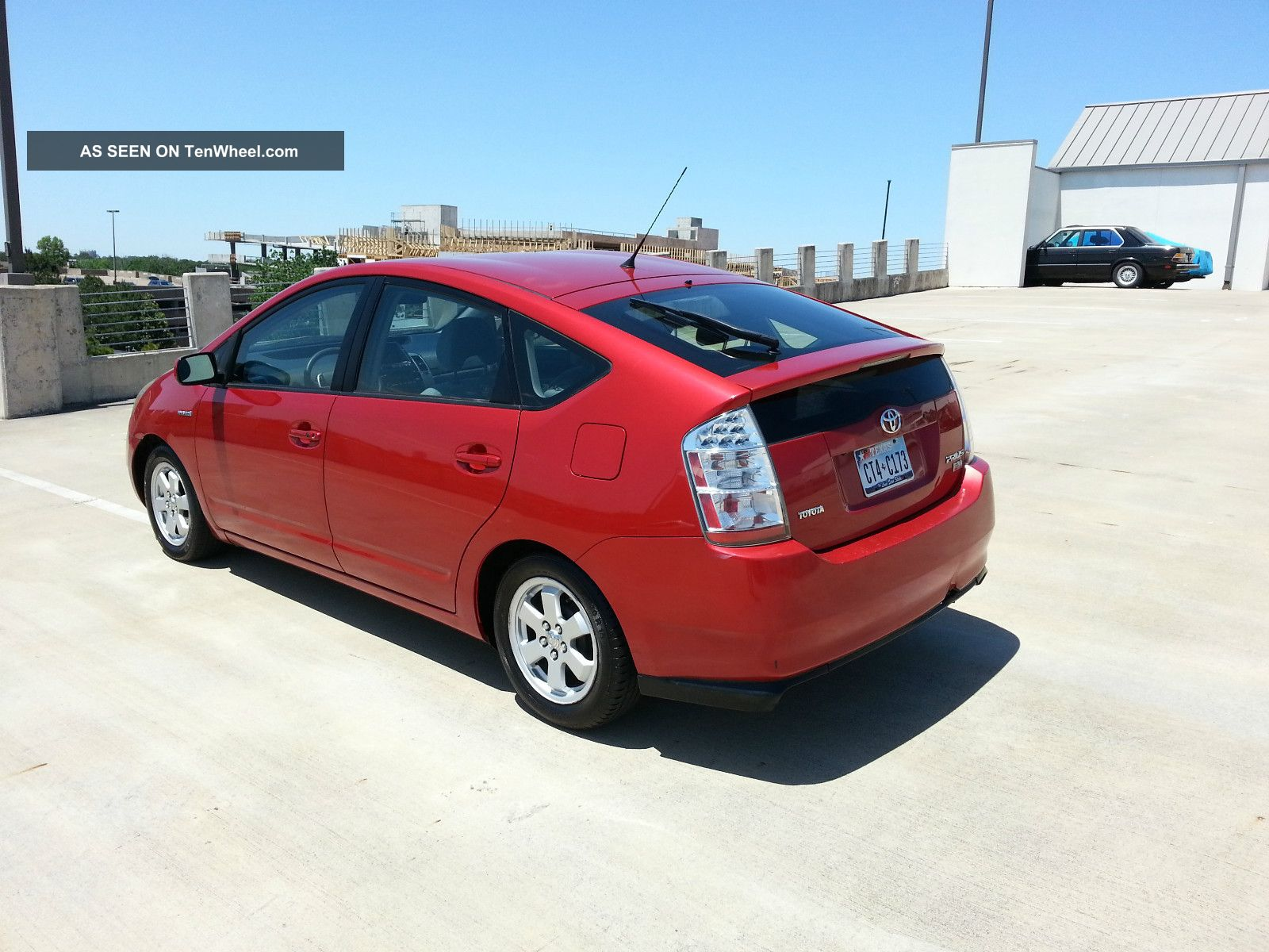 2007 toyota prius base hatchback 4 door 1 5l. Black Bedroom Furniture Sets. Home Design Ideas