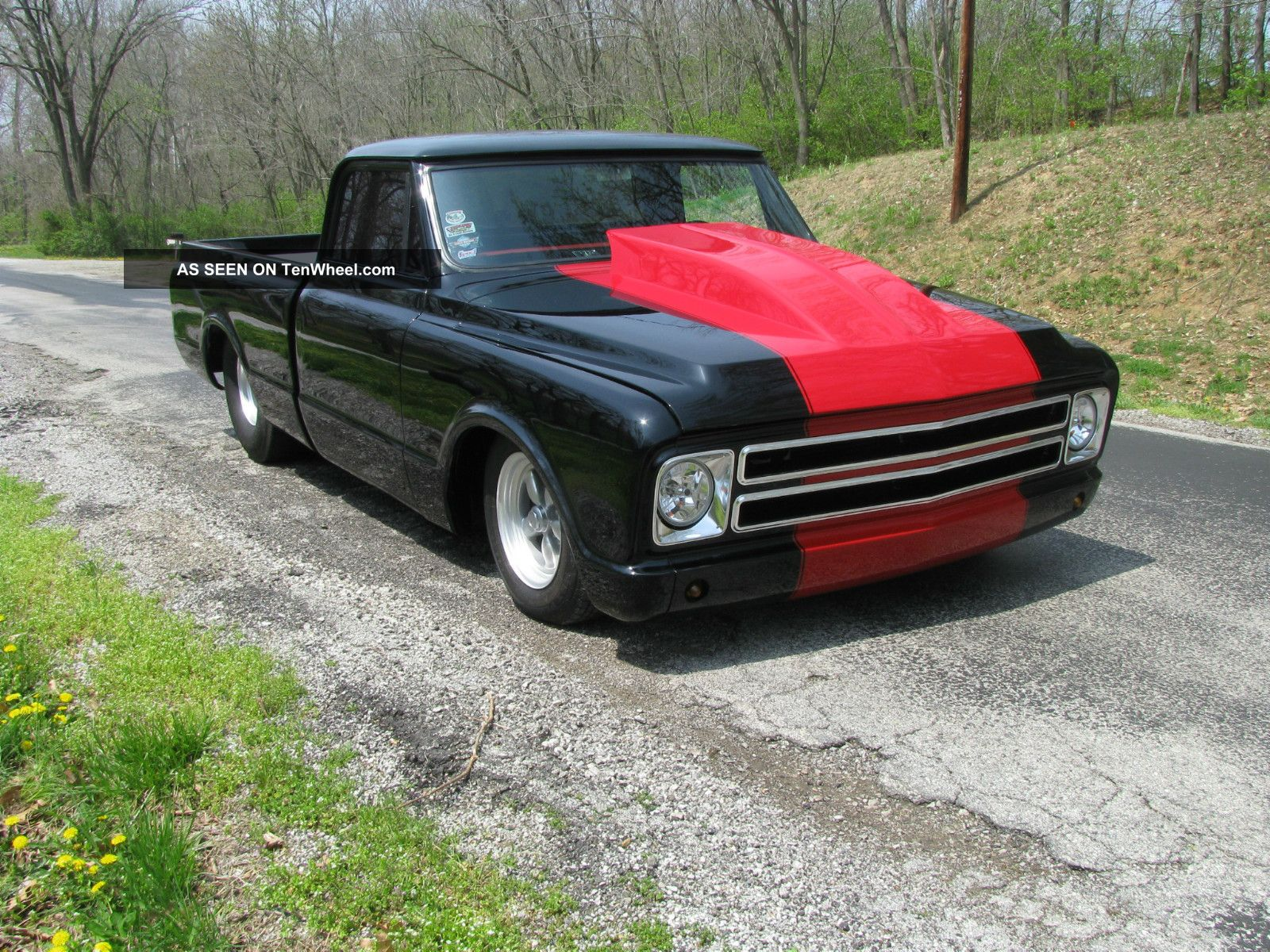 1972 Chevy / Gmc Pro Street Truck 67 68 69 70 71 72 C10 C-10 photo 3
