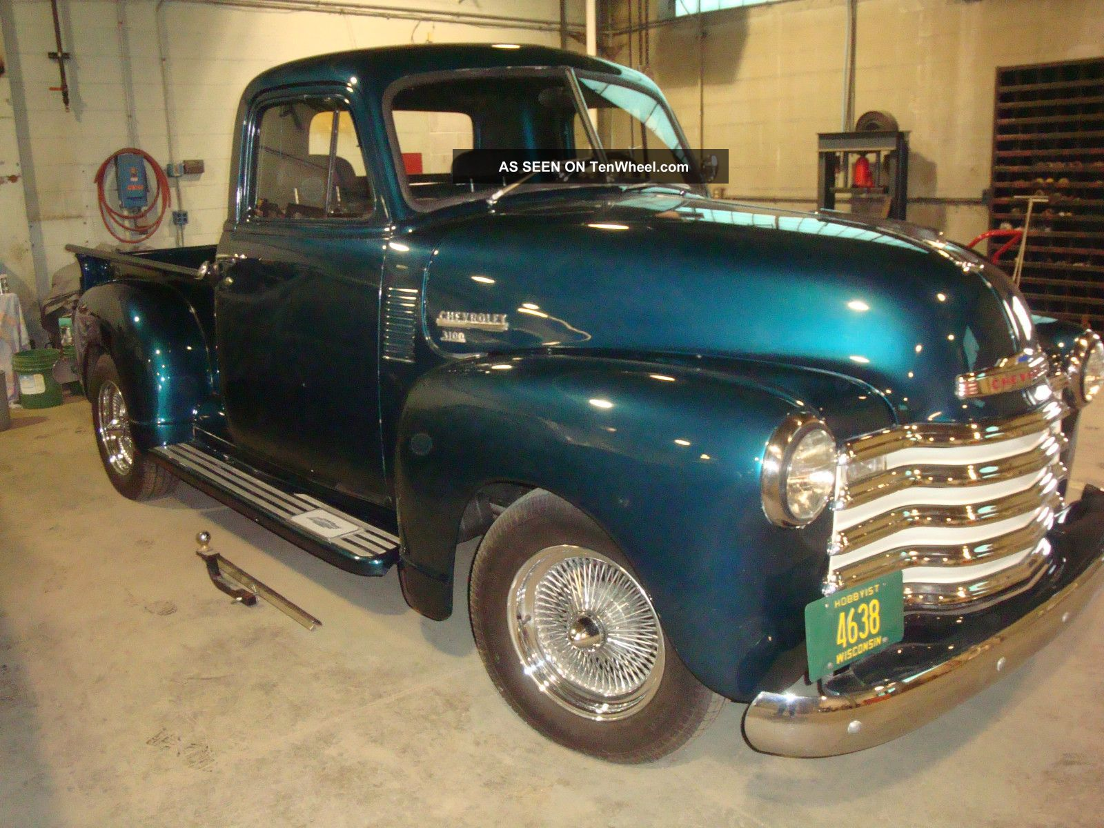 1951 Chevrolet 5 Window Pickup Truck 3100 Other photo