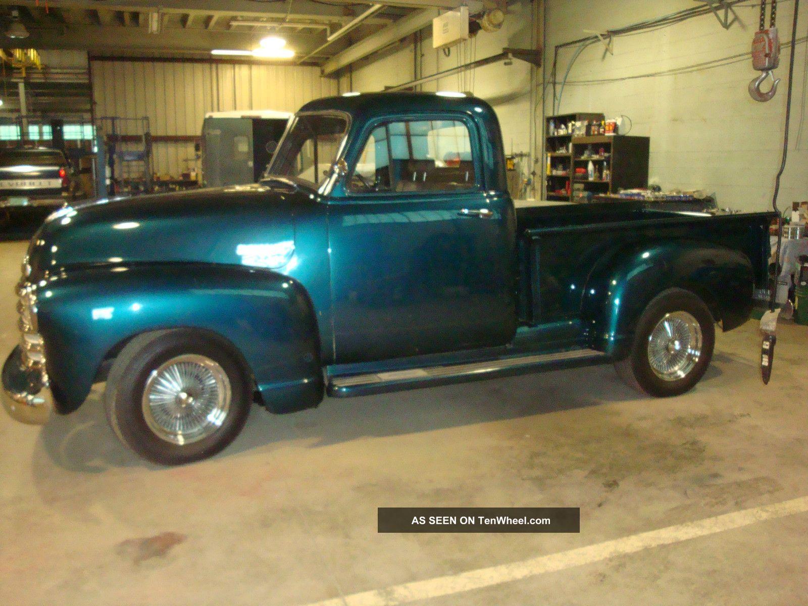 1951 chevrolet 5 window pickup truck 3100 for 1951 gmc 5 window pickup