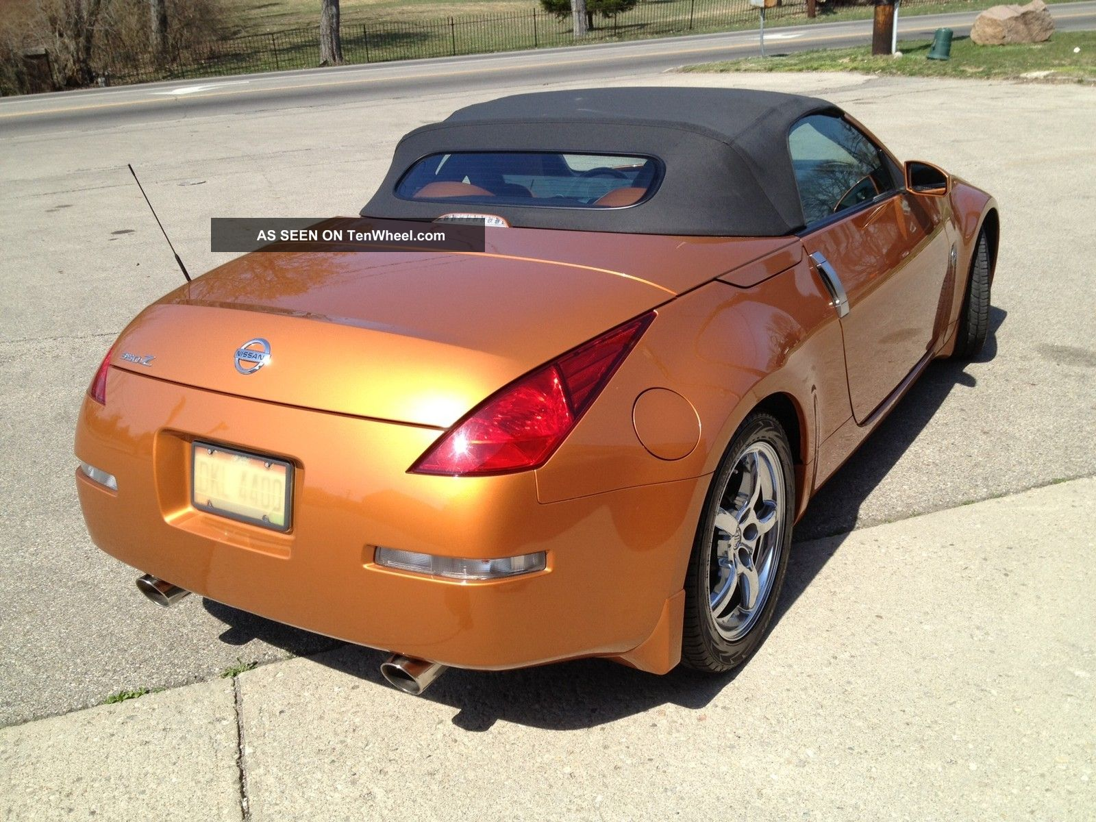 2005 Nissan 350z Roadster Touring Convertible Chrome Wheels