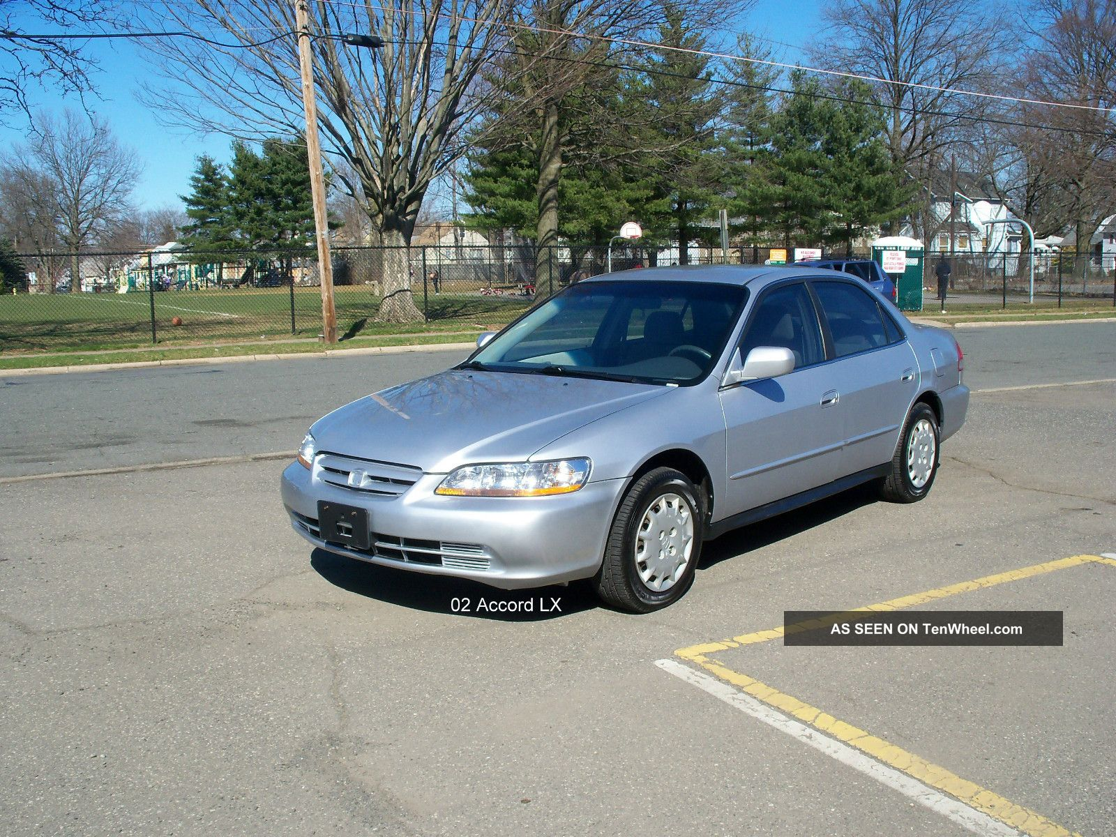 2002 honda accord lx sedan 4 door 2 3l for 09 2 door honda accord