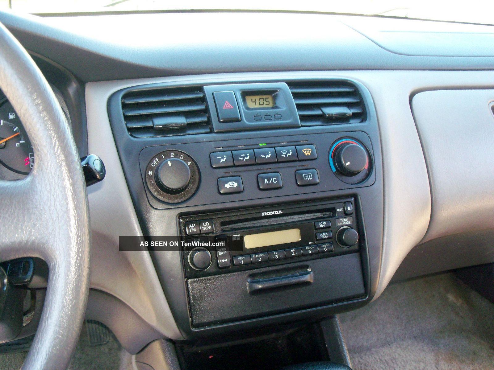 Honda Accord Sedan 2002 2002 Honda Accord lx Sedan 4