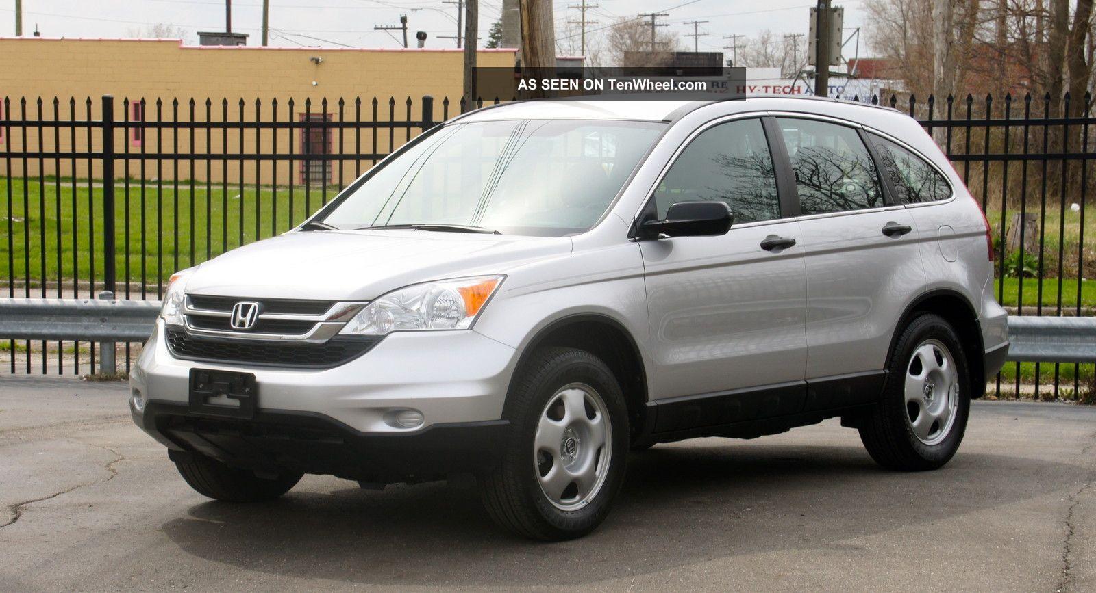 2011 Honda Cr V Lx 2 4l 4cylinder 5dr Gas Saver