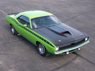 1970 Plymouth Aar Barracuda Cuda Two Door Coupe photo
