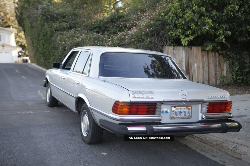 1980 mercedes benz 300sd turbo diesel