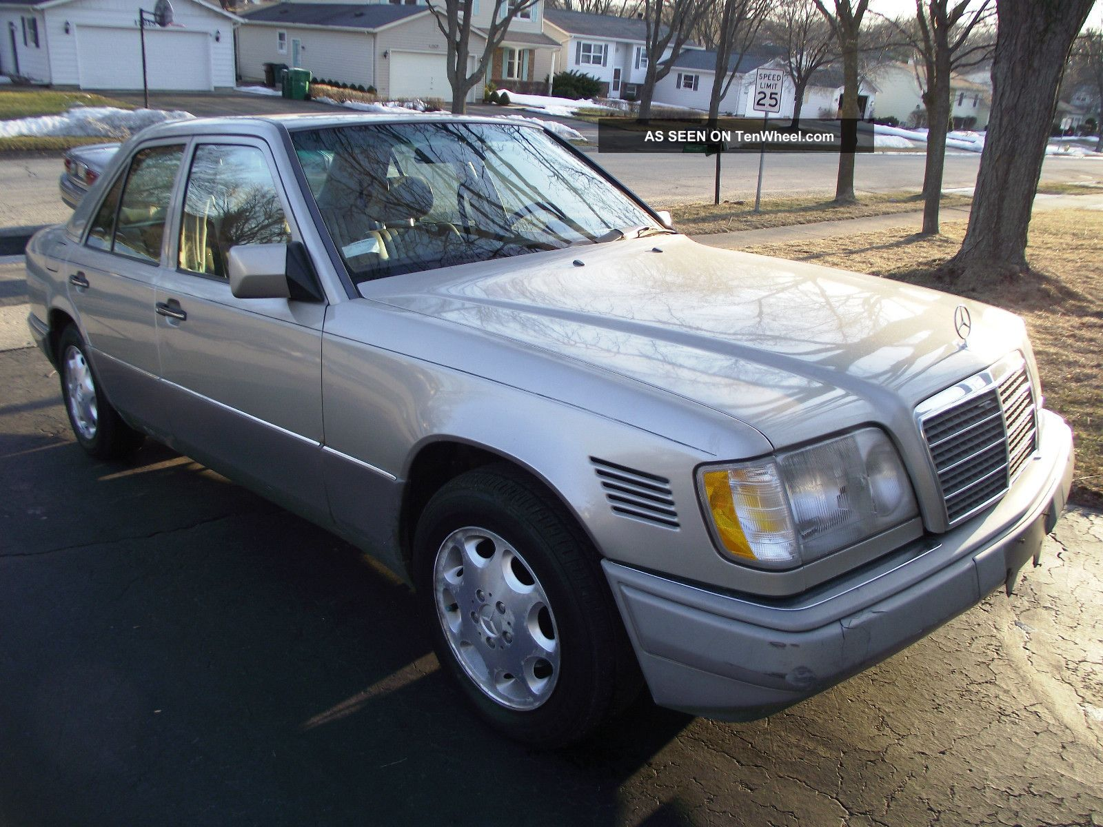 1995 mercedes benz e300 diesel car runs well