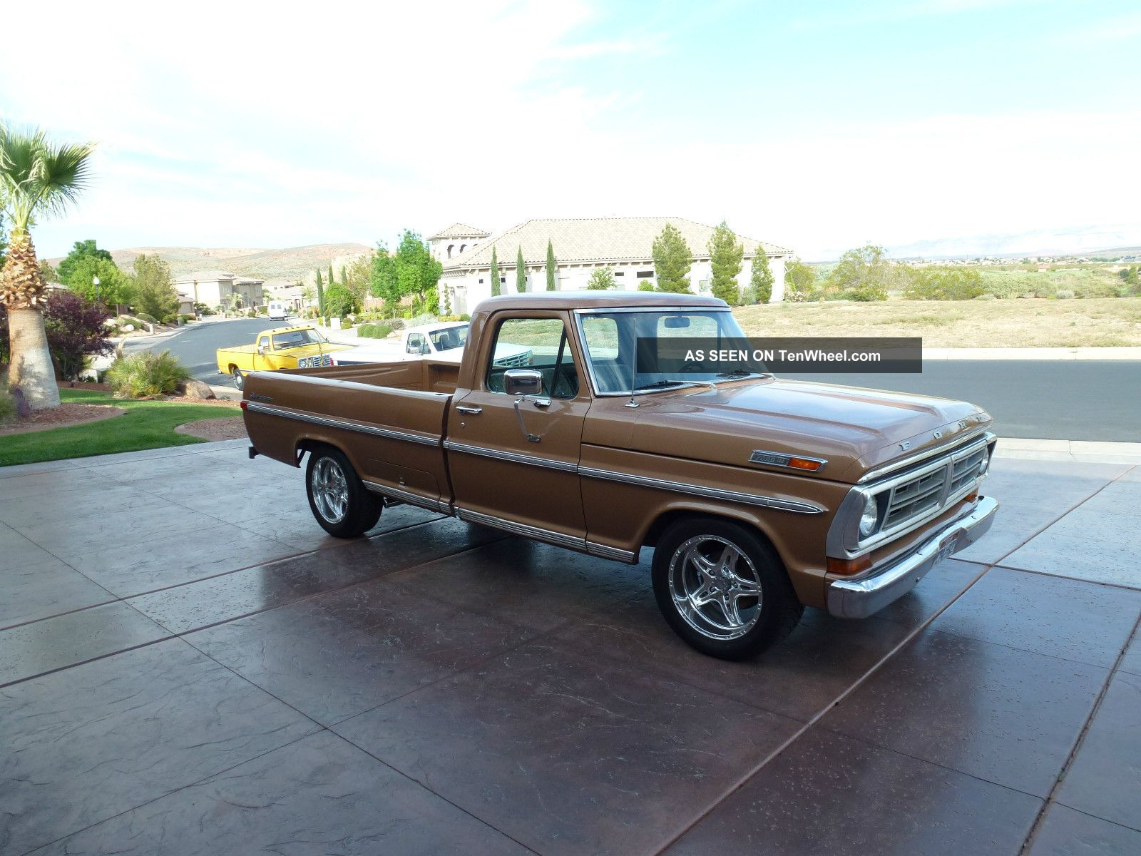 1972 Ford F100 Classic Collectible Auto 390 Fast