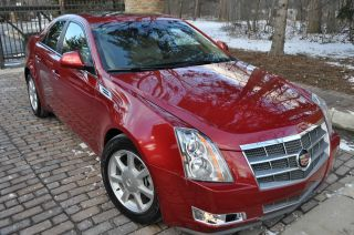 2009 Cts - 4. .  4x4 / Awd.  / Pano / Onstar / Heated / Bose / 17 ' S / Rebuilt photo