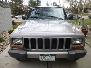 2001 Jeep Cherokee Sport 4x4; 4 - Door; 4.  0l photo