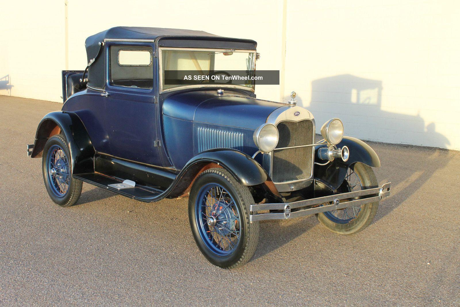 1929 ford model a 2 door for 1929 ford model a 4 door sedan