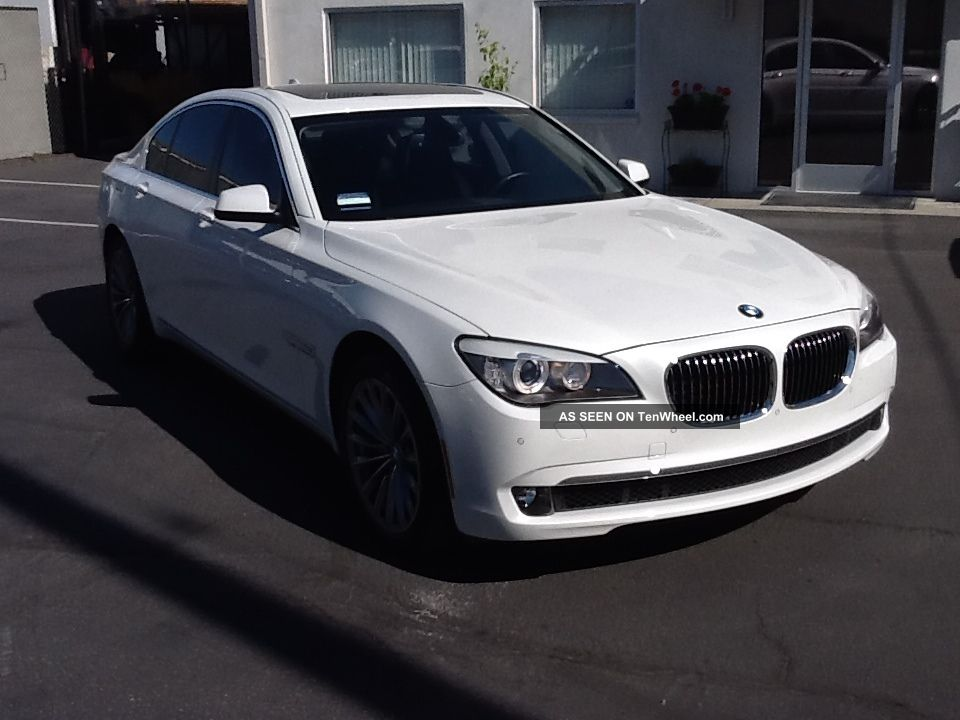 2012 Bmw 740i Luxury Premium And Convenience Package