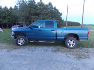2003 Blue Dodge Ram 2500 4x4 4 - Door Diesel Truck photo
