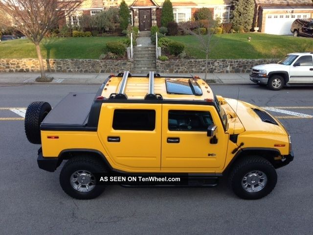 2005 Hummer H2 Sut Yellow H2 photo