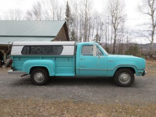 1972 Dodge D - 300 Truck W 9' Power Wagon Bed photo