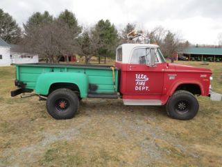 1971 Dodge W300 Power Wagon Truck 4 X 4 photo
