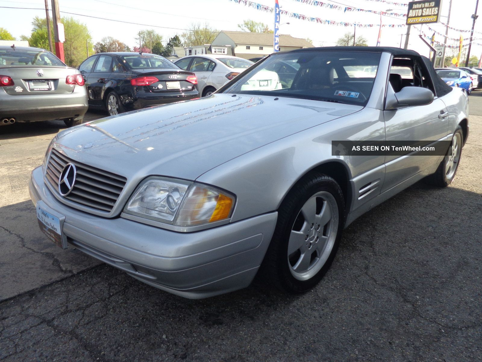 2000 Mercedes Benz Sl500 Base Convertible 2 Door 5 0l