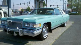 1975 Cadillac Deville Base Coupe 2 - Door 8.  2l photo