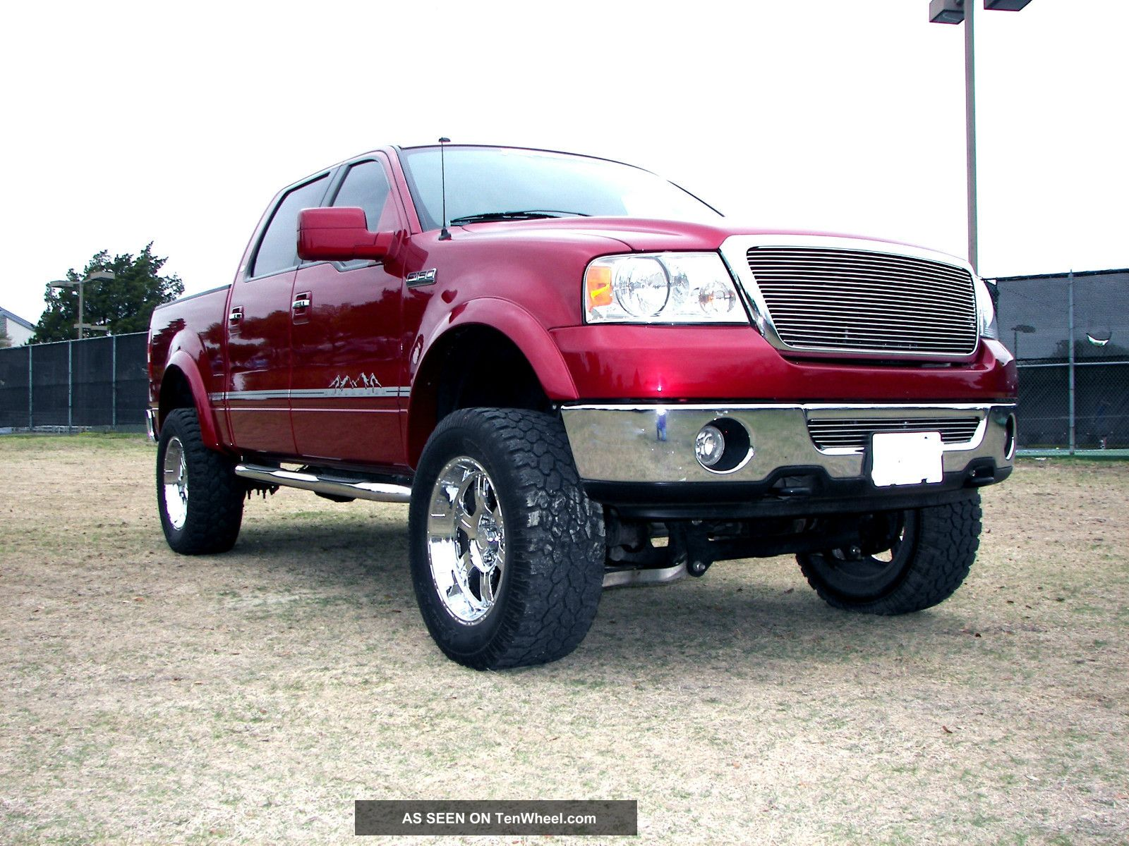 lifted 2007 ford f150 lariat supercrew 4x4. Black Bedroom Furniture Sets. Home Design Ideas