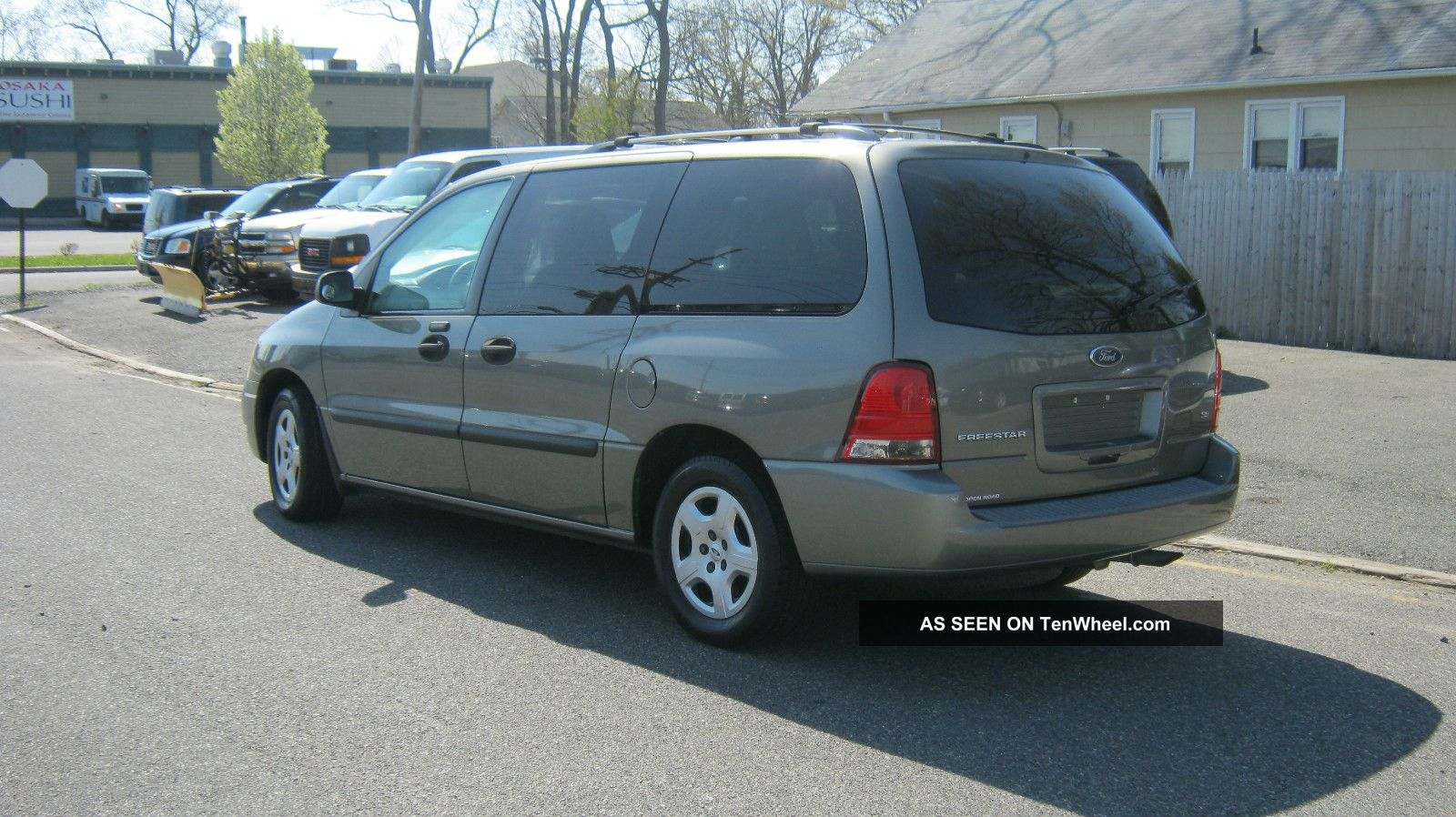 2004 ford freestar se mini passenger van 4 door 3 9l. Black Bedroom Furniture Sets. Home Design Ideas