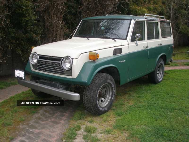 1979 1 / 2 Toyota Land Cruiser Fj55 Wagon (rare) Land Cruiser photo