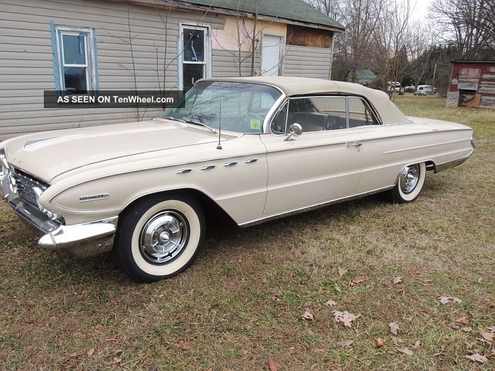 Rare 1961 Buick Electra 225 Convertible Paint,  Never Electra photo