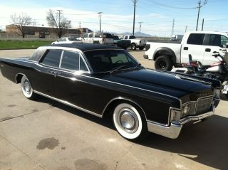 1969 Lincoln Continental Triple Black Suicide Doors photo