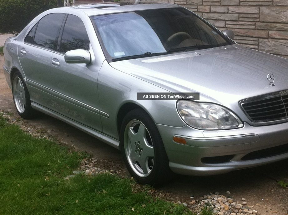 2002 Mercedes - Benz S430 Base Sedan 4 - Door 4.  3l S-Class photo