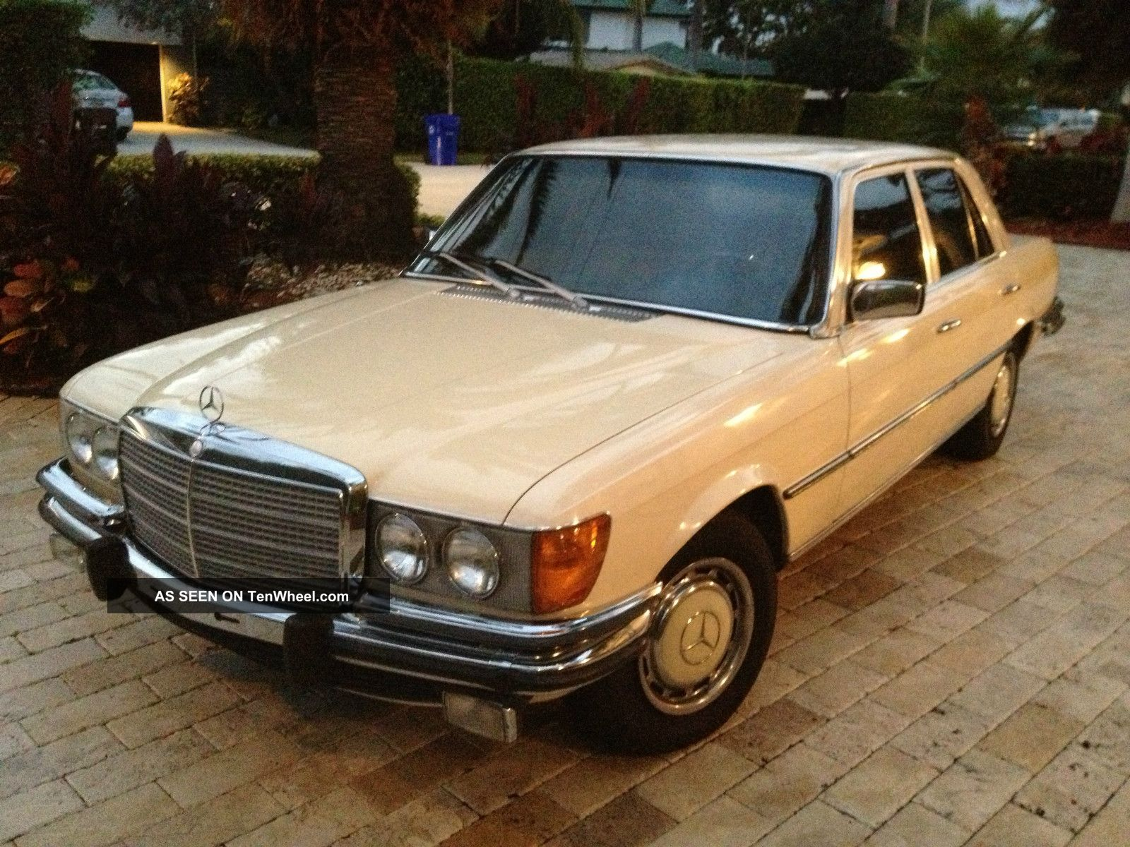 1973 mercedes benz 450se celebrity owned immaculate