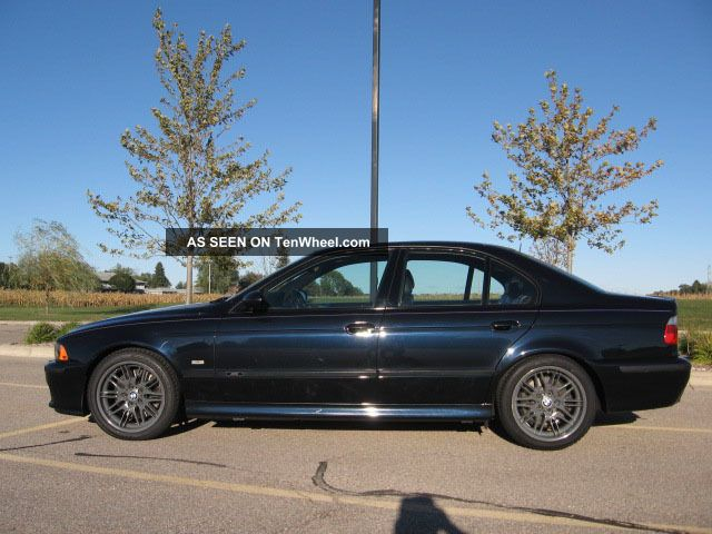 2001 Bmw M5 Base Sedan 4 - Door 5.  0l M5 photo