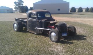 1940 International Pickup Rat Rod photo