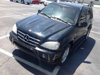 2001 Mercedes - Benz Ml55 Amg Sport Utility 4 - Door 5.  5l photo