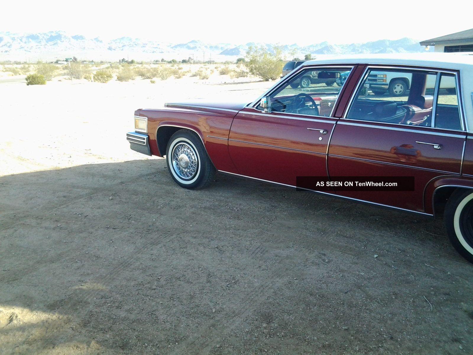 1978 Cadillac Deville Base Sedan 4 Door 7 0l