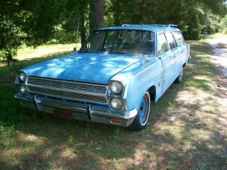 1965 Rambler Ambassador Cross Country Station Wagon By Amc American Motors Corp photo