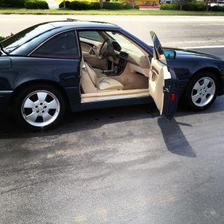 1998 Mercedes - Benz Sl500 Convertible 2 - Door 5.  0l W / Glass Rooftop 326hp photo