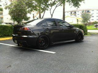 2010 Mitsubishi Evolution X Gsr (phantom Black) photo