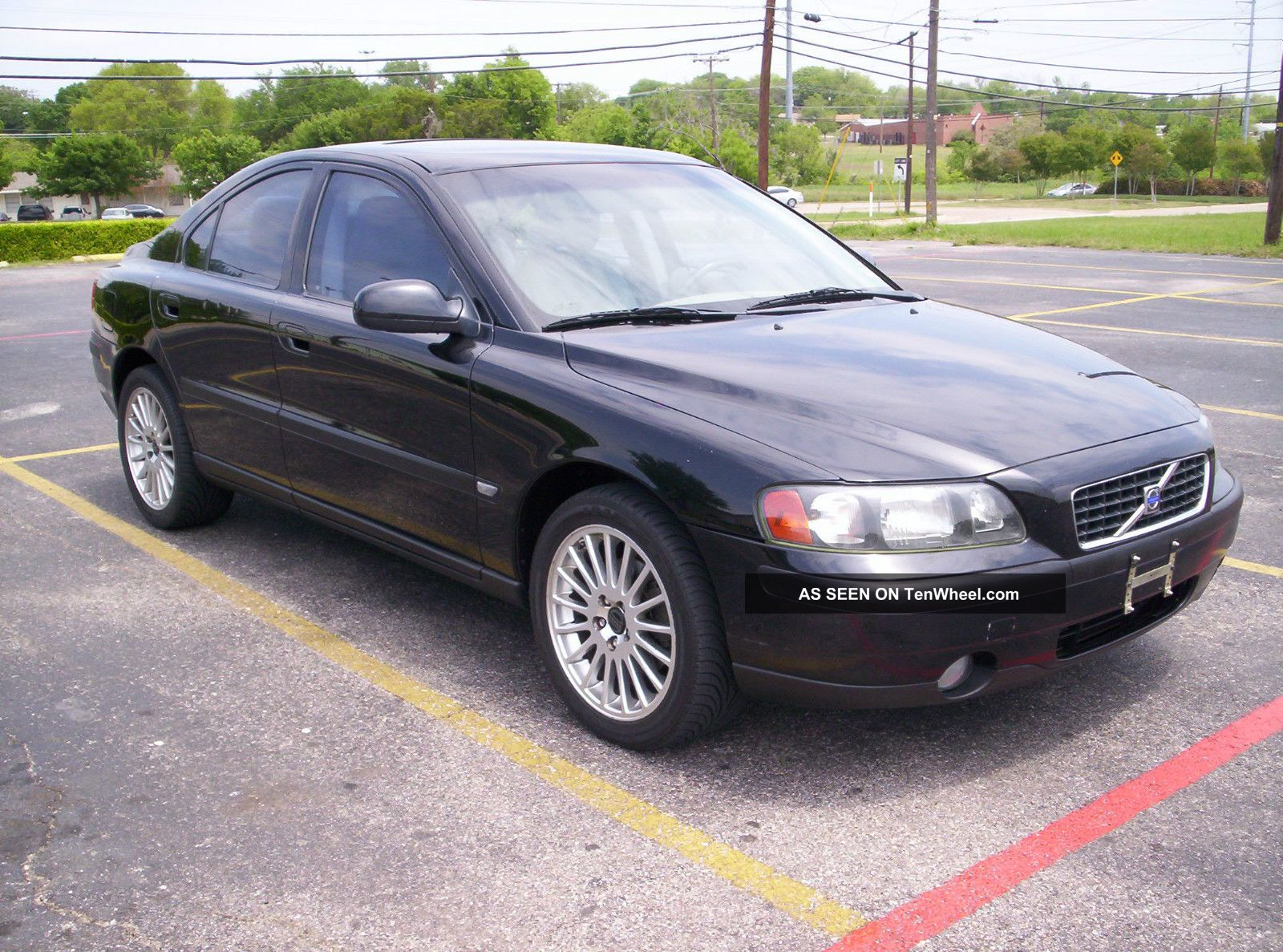 2002 volvo s60 2 4t turbo texas car pearl black. Black Bedroom Furniture Sets. Home Design Ideas