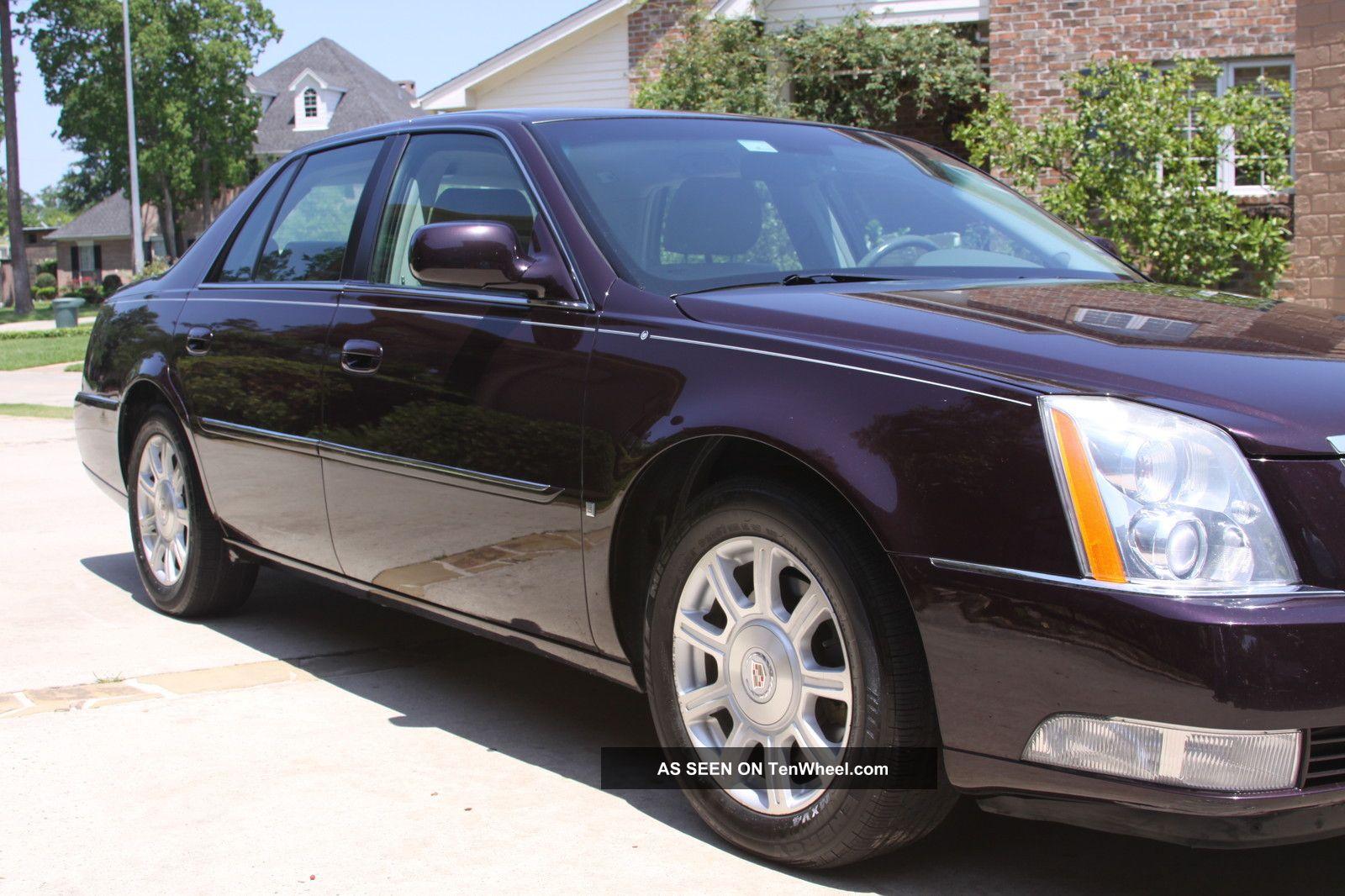 2008 Cadillac Dts 4 Door 4 6l Northstar