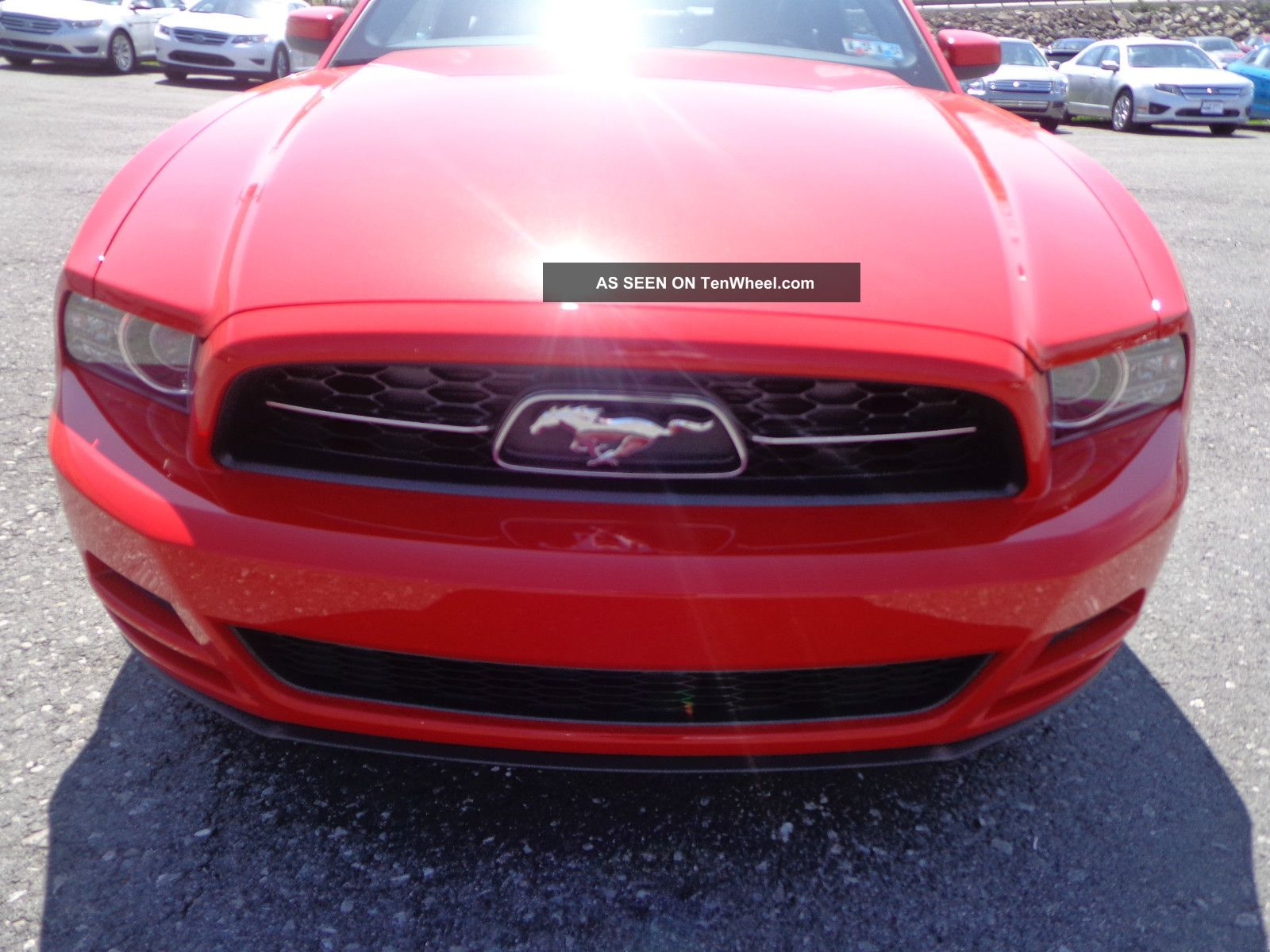2014 Mustang Pony Package