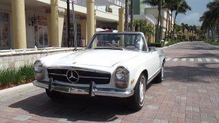 1969 Mercedes Benz 280 Sl.  Second Owner Car.  Always Serviced.  Excellent Car photo