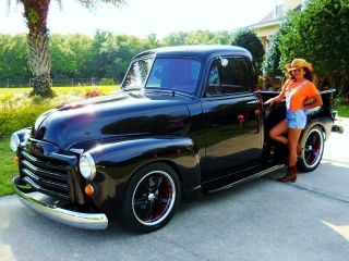 1953 Chevrolet (gmc) Pick Up Truck Pro Touring Retro Street Rod photo