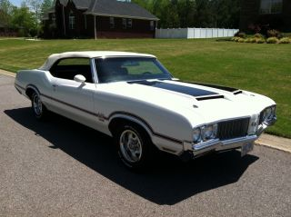 1970 Oldsmobile 442 W - 30 Convertible Matching Numbers Look photo