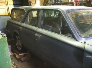 1965 Valiant Station Wagon Project Car photo