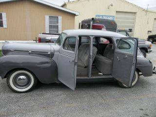 Cars trucks dodge web museum for 1940 dodge 4 door sedan