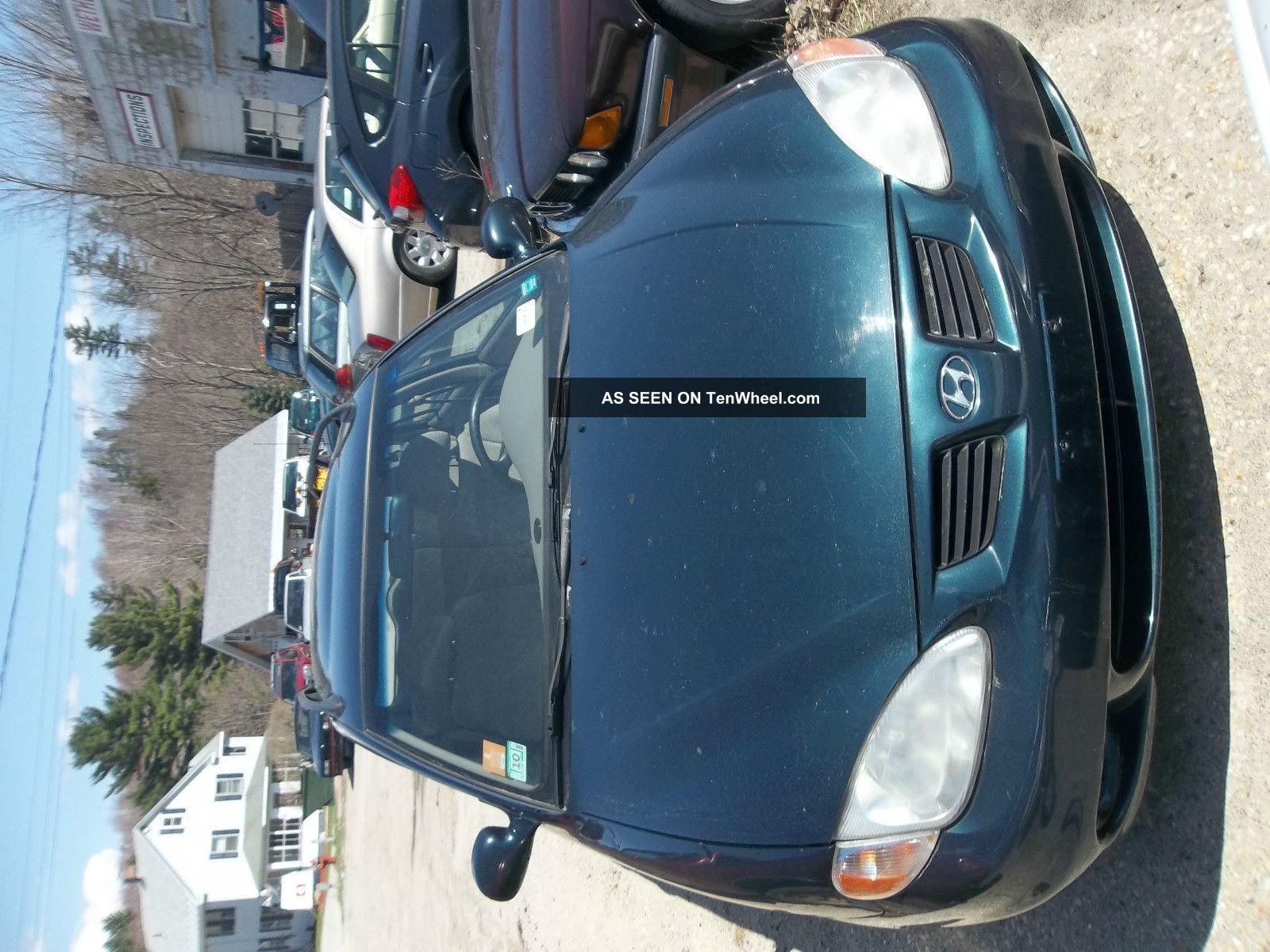 2000 Hyundai Elantra Gls Wagon 5 - Door 2.  0l Elantra photo