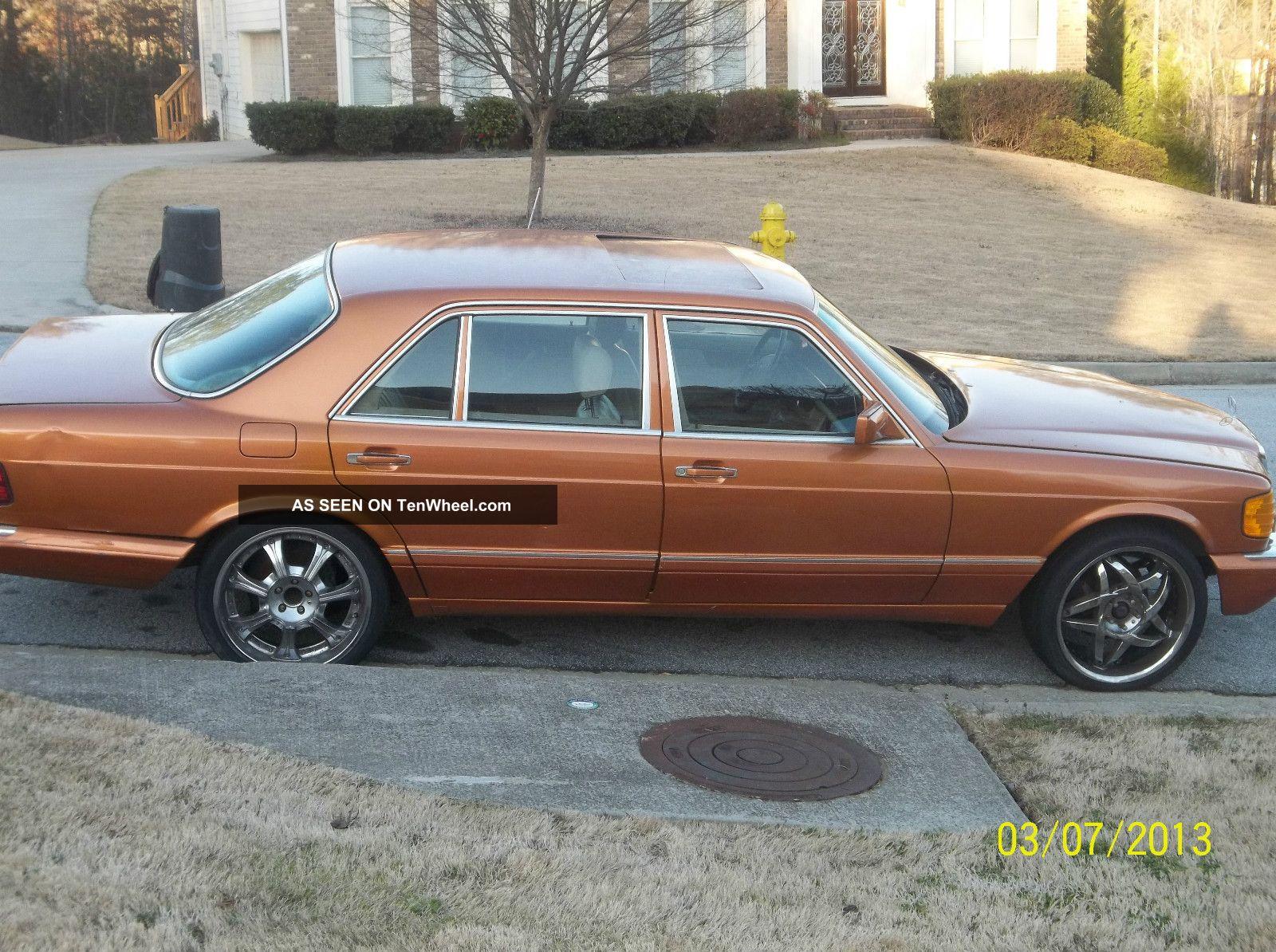 Classic mercedes benz 560sel 1986 for Mercedes benz 1986